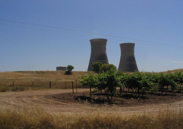 Decommissioned Rancho Seco Nuclear Power Plant Southeast of Sacramento, California