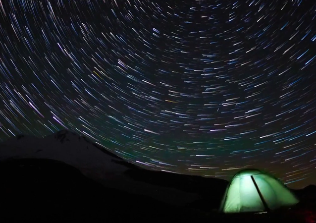 Timelapse: Alone With The Stars