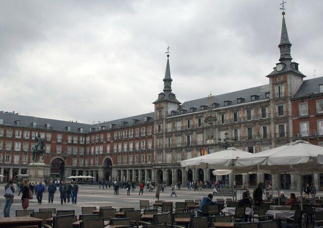 Main Square (Plaza Mayor), Madrid.