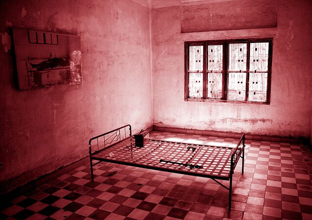 Torture room used to afflict pain on suspects