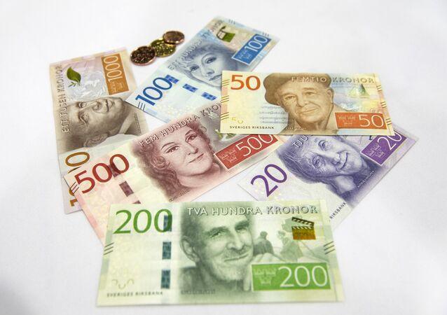 Swedish bank notes