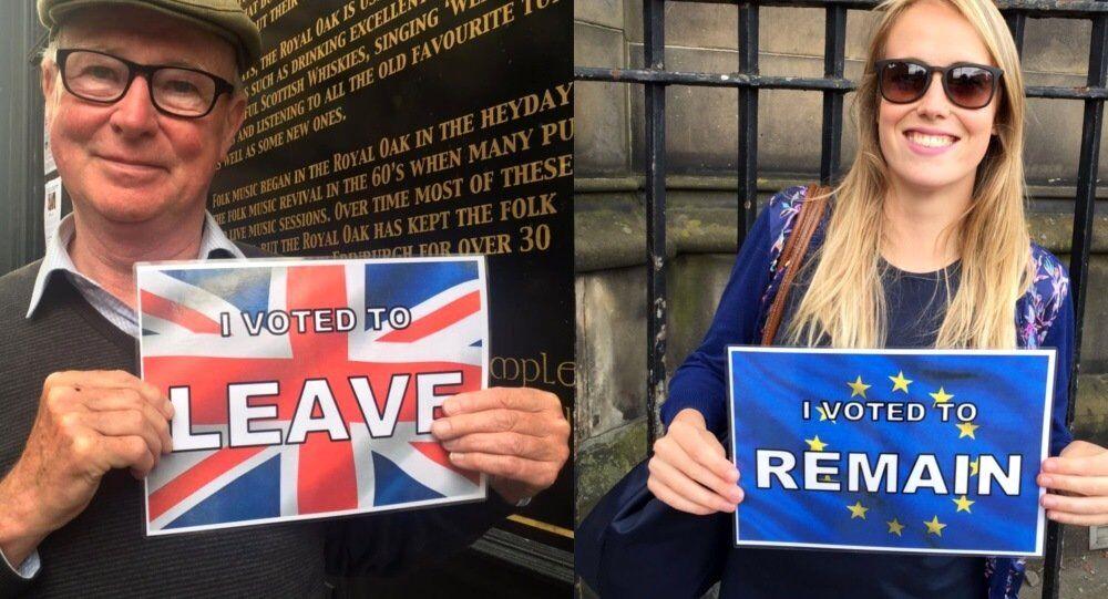 British voters in the EU referendum.