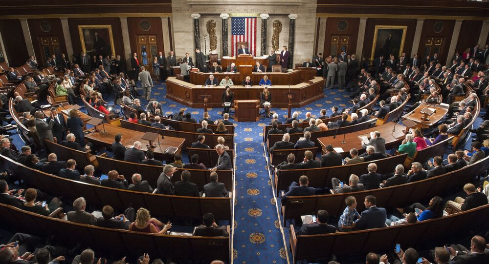 US House of Representatives. (File)