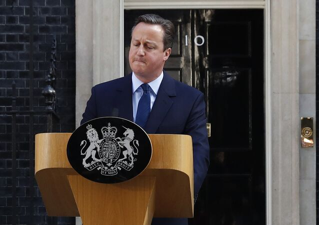 Britain's Prime Minister David Cameron speaks after Britain voted to leave the European Union, outside Number 10 Downing Street in London, Britain June 24, 2016
