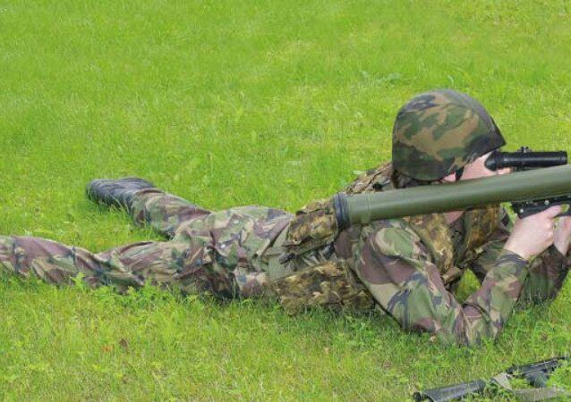 The Bur grenade launcher