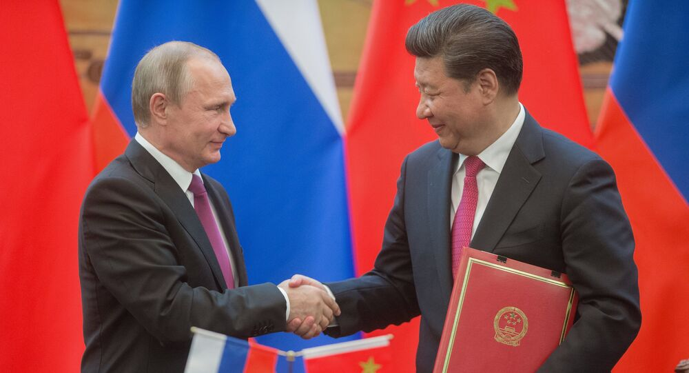 President Vladimir Putin's official visit to People's Republic of China