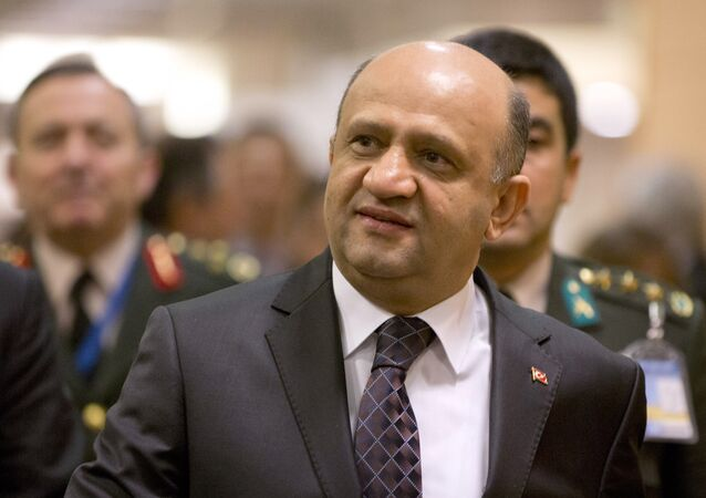 Turkish Defense Minister Fikri Isik.