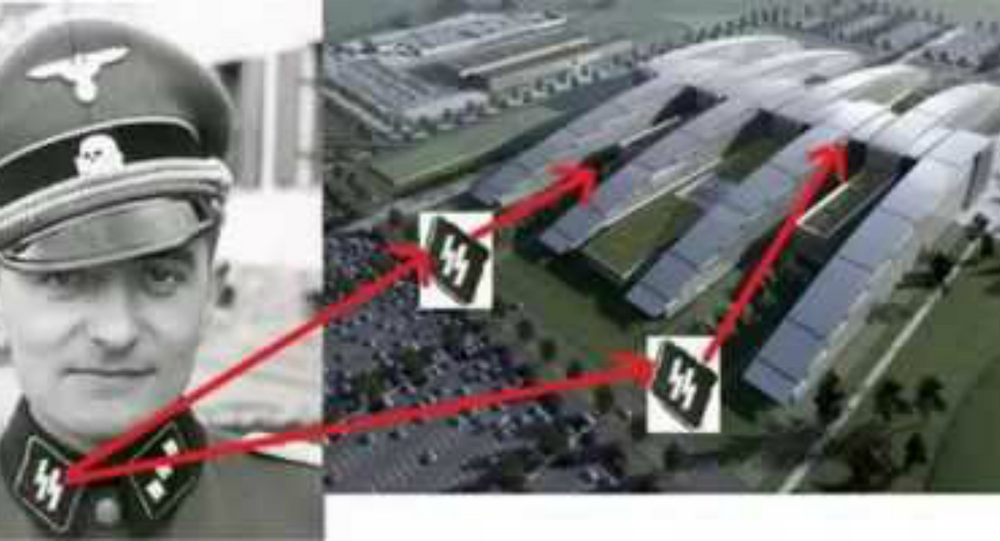 NATO Headquarters Design Mirrors Nazi SS Bolts