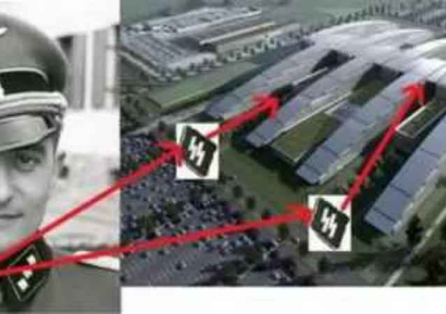 NATO Headquarters Design Mirrors Nazi SS Bolts