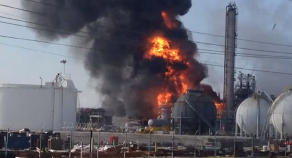 Mississippi Gas Plant Explosion