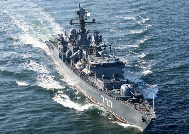 Russia's guard ship Yaroslav Mudry
