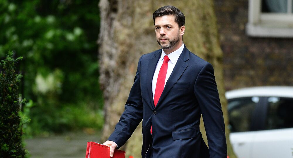 British Work and Pensions Secretary Stephen Crabb arrives to attend a cabinet meeting at 10 Downing Street in central London on June 27, 2016