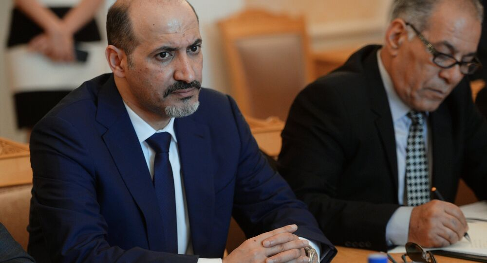 Sergei Lavrov meets with Syrian opposition delegation led by Ahmad al-Jarba