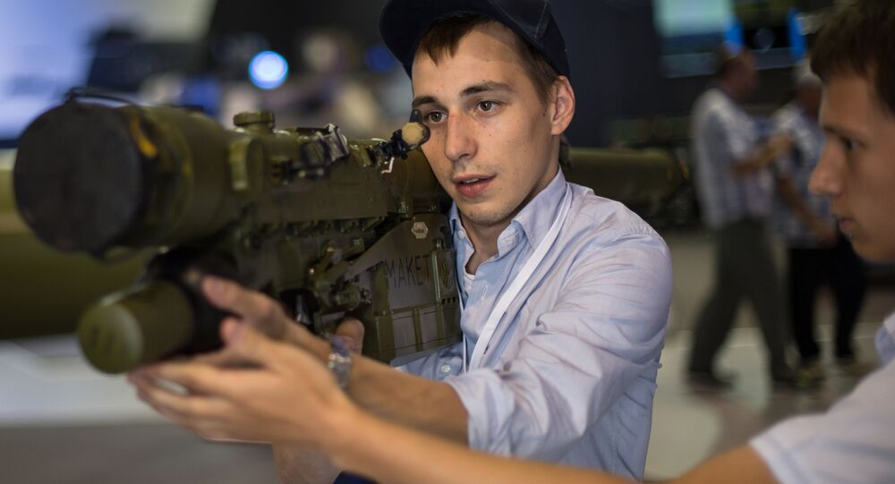 The Igla-S man portable air defence missile system (MANPADS)