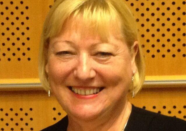 UK Labour Shadow Education Secretary Pat Glass