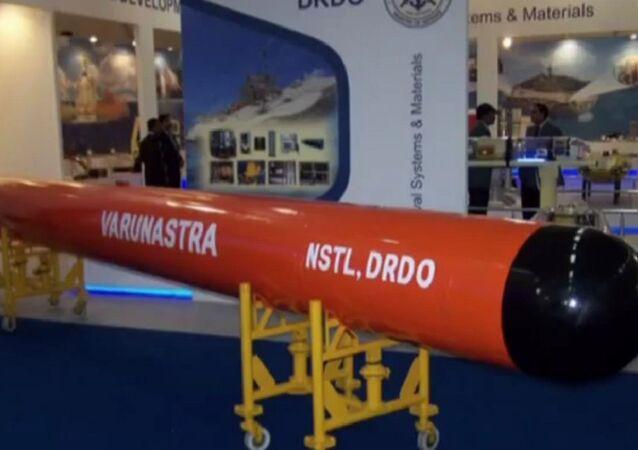 India's New Powerful Heavy Weight Torpedo(Missile) - Varunastra