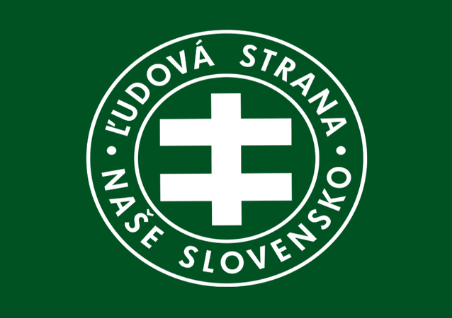 Flag of the People's Party Our Slovakia