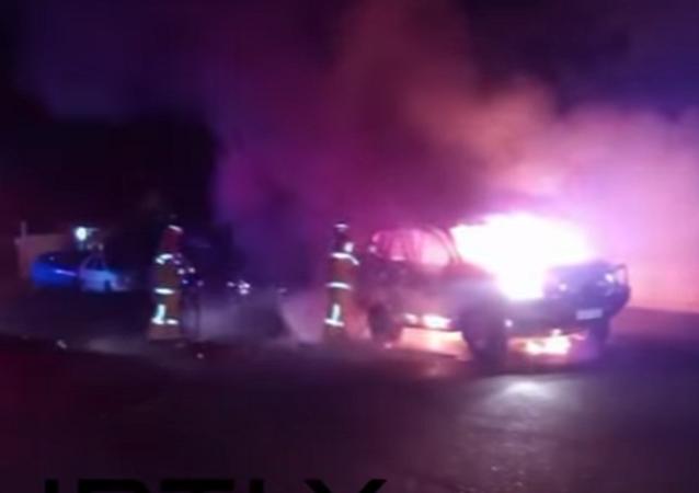 Australian Mosque Firebombed While Hundreds Prayed Inside