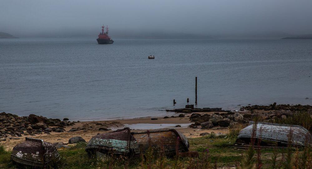 Teriberka, Kola Peninsula, Russia