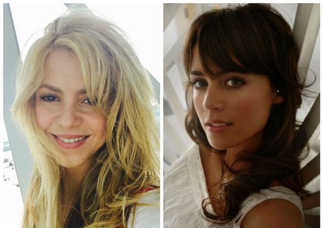 Shakira and Polly Parsons