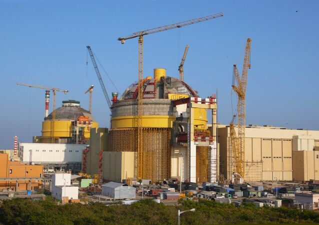 Nuclear power plants (Pressurized Water Reactors) under construction at Kudankulm, India. (File)