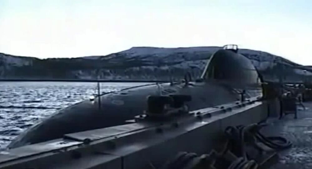 Project 705 (ALFA class) attack nuclear submarine