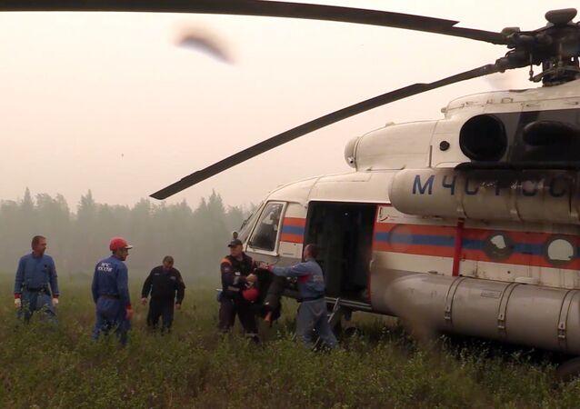 Search for missing Il-76 plane in Irkutsk Region