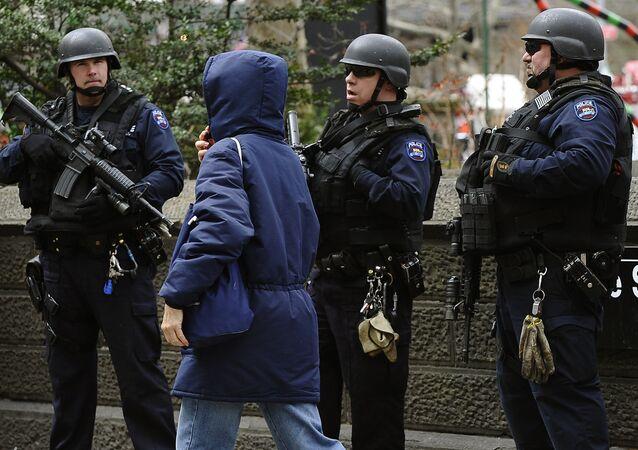 New York City Police near Central Park (File)