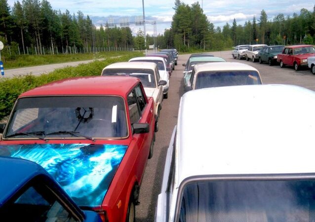 The vehicles going up for auction include models of Lada, Volga and Moskvitch cars never imported for sale in Finland