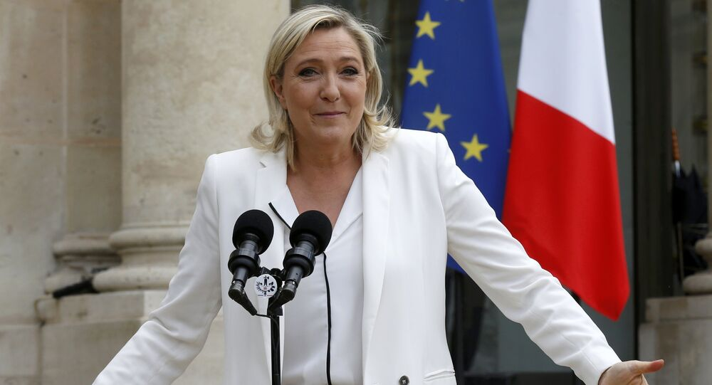 Marine Le Pen, France's far-right National Front political party leader (File)