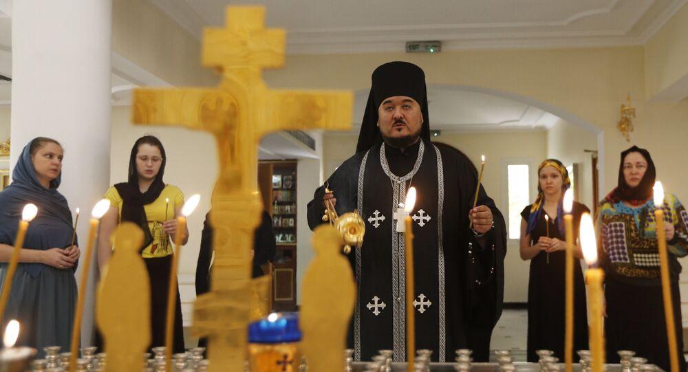 Orthodox church in Sharjah, in the United Arab Emirates (File)