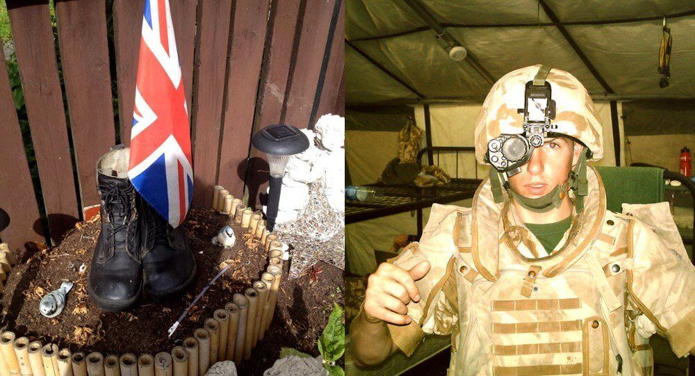 Michael Trench, one of the youngest British soldiers to die in Iraq in 2007
