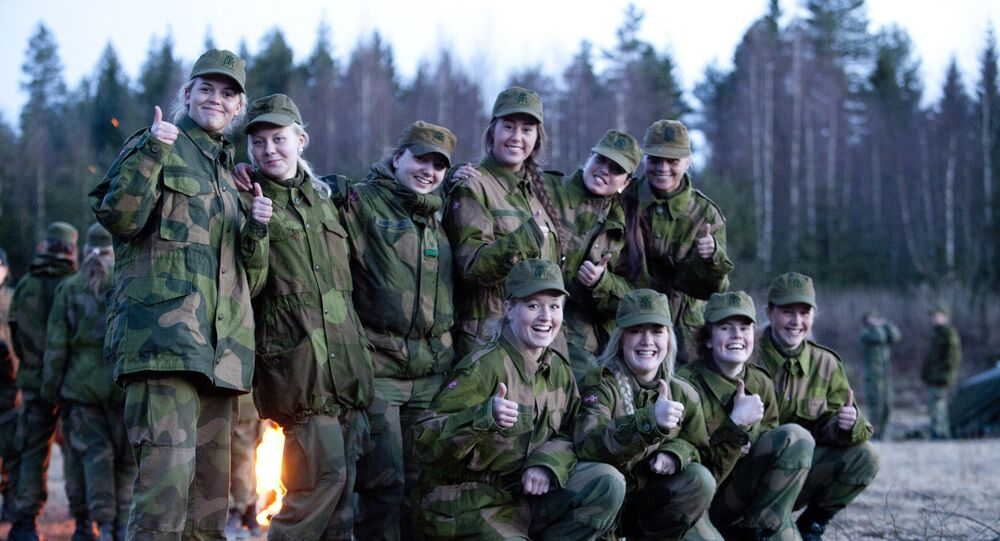 Norwegian Military Girl's Camp