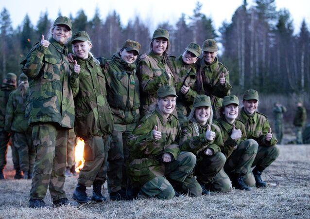 Norwegian Military Girl's Camp