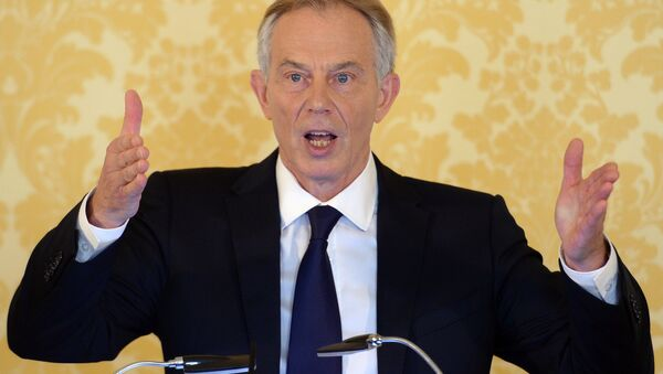 Former Prime Minister Tony Blair speaks during a news conference in London on July 6, 2016, following the outcome of the Iraq Inquiry report - Sputnik International