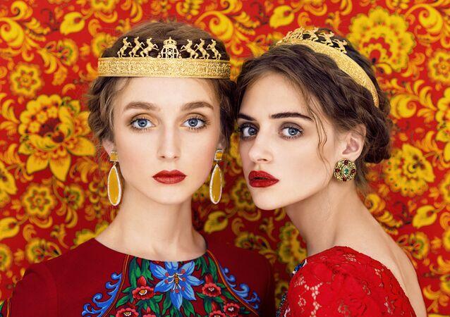 Exploring Slavic Portraits Through Glamorous Prism