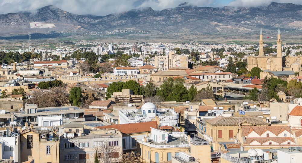 Nicosia City View - The Capital of Cyprus and Northern Part.
