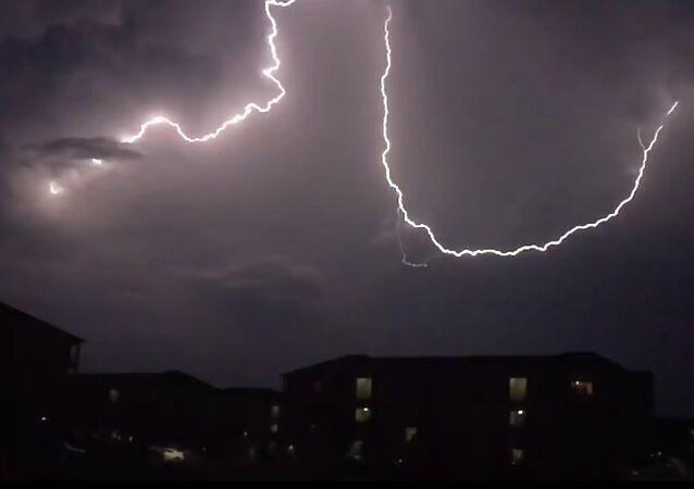 Lightning over Ashburn