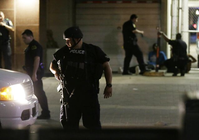 Police Shootings at Protest in Dallas