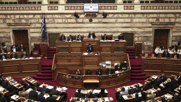 Greek parliament - Sputnik International