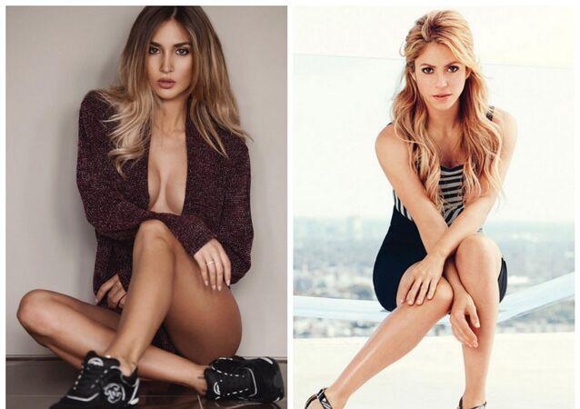 Ann-Kathrin Vida  and Shakira