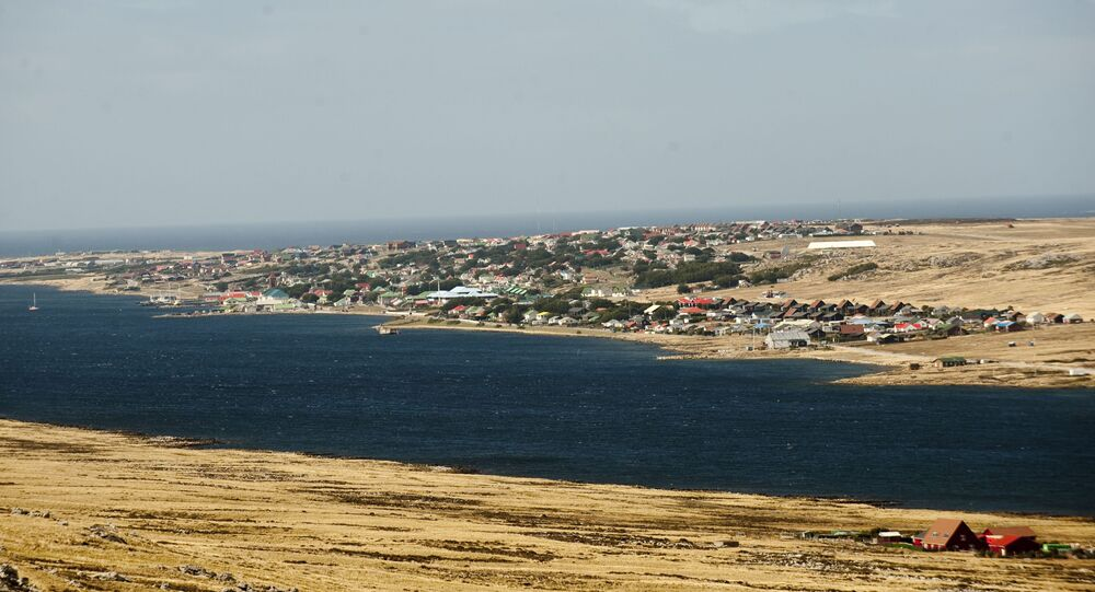 Port Stanley, in the Falkland Islands