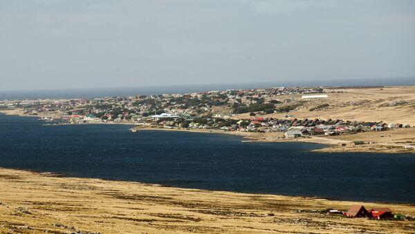 Port Stanley, in the Falkland Islands - Sputnik International