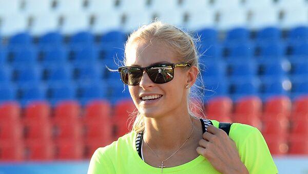Darya Klishina - Sputnik International
