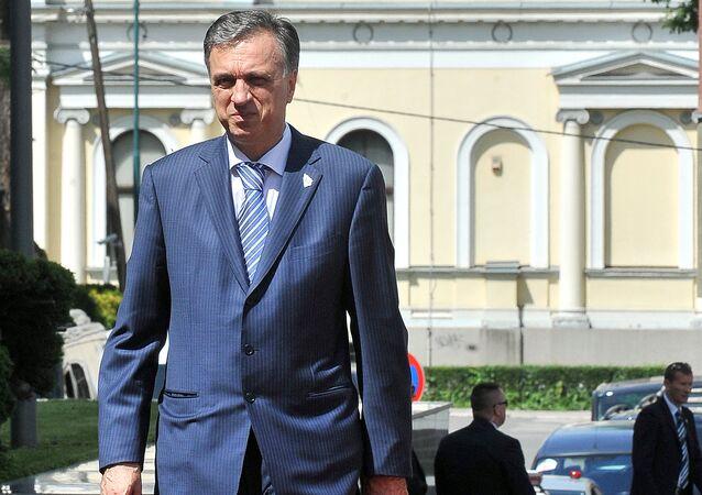 President of Montenegro Filip Vujanovic  (File)