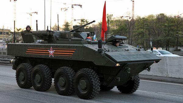 The Bumerang armored platform, seen here in APC configuration. - Sputnik International