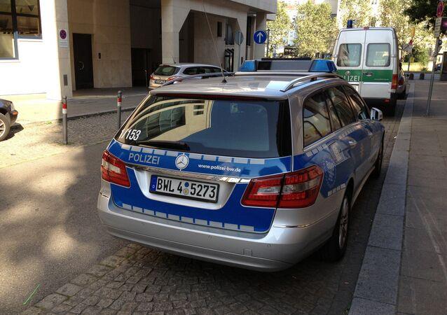 Police.Stuttgart .Germany