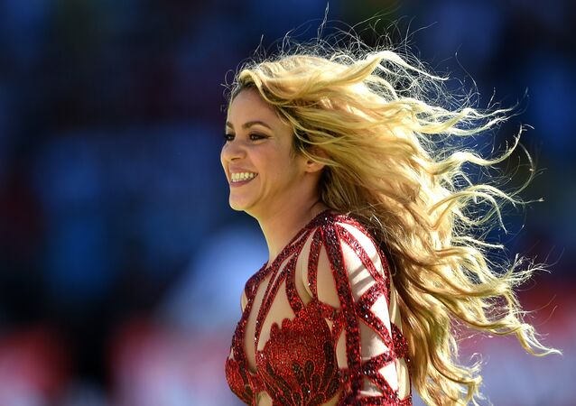 Colombian singer Shakira (File)