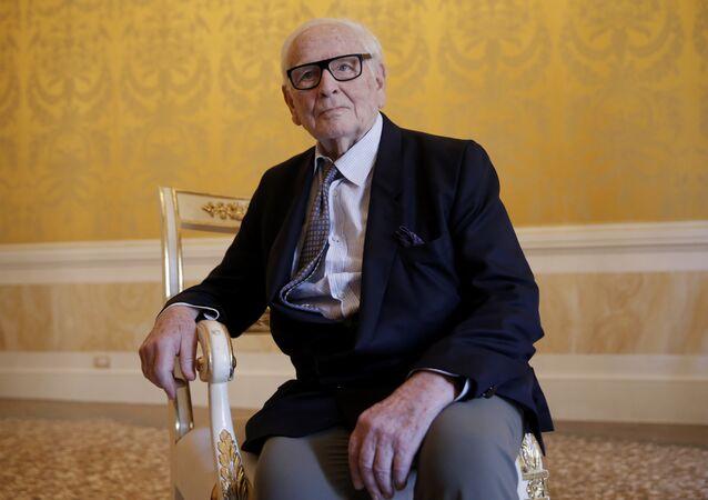 French designer Pierre Cardin (File)