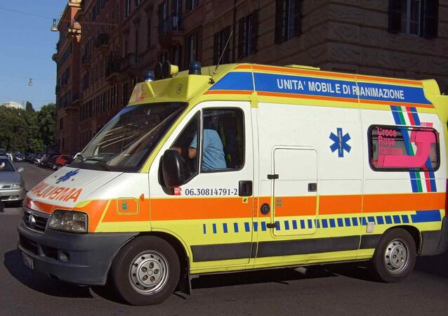 Italian Red Cross  ambulance